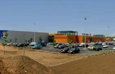 Centre commercial – La Ville aux Dames