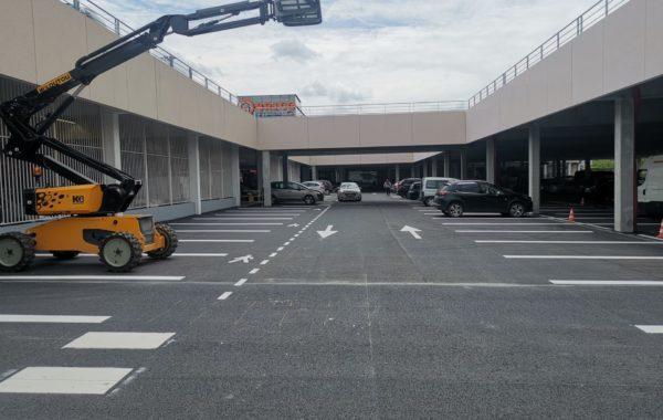 Extension du parking LECLERC de 102 places  Amilly Montargis (45)
